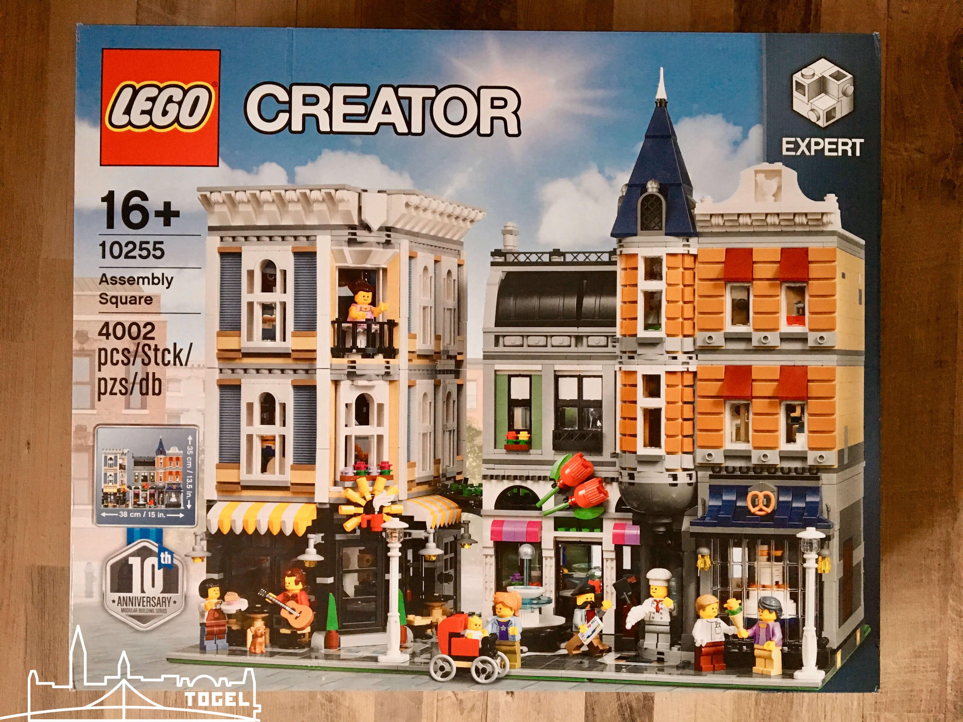 Lego Creator Stadtleben Assembly Square 10255 zählt zu den 5 besten Lego Sets 2017
