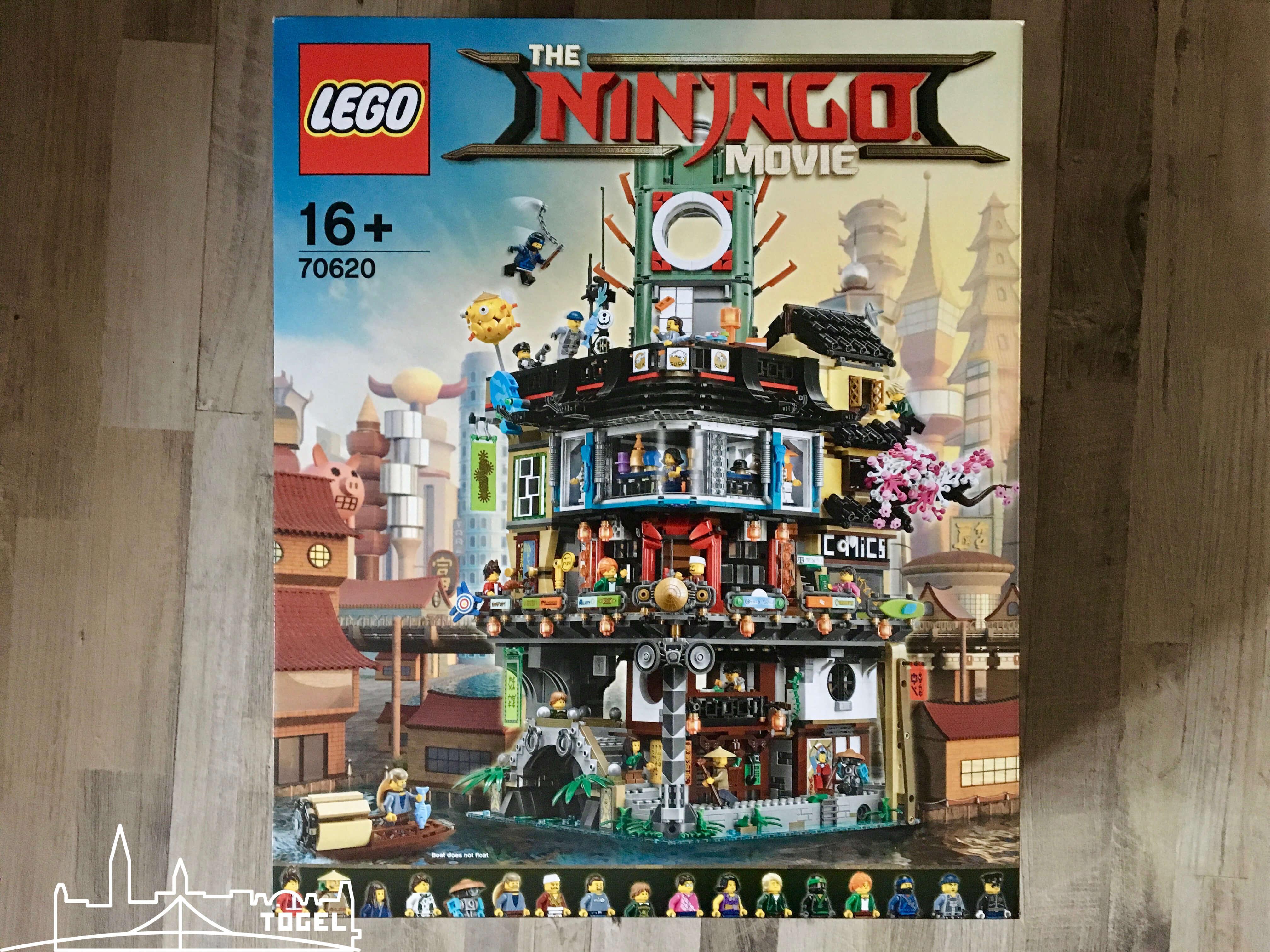 Lego Ninjago Ninjago City 70620 zählt zu den 5 besten Lego Sets 2017