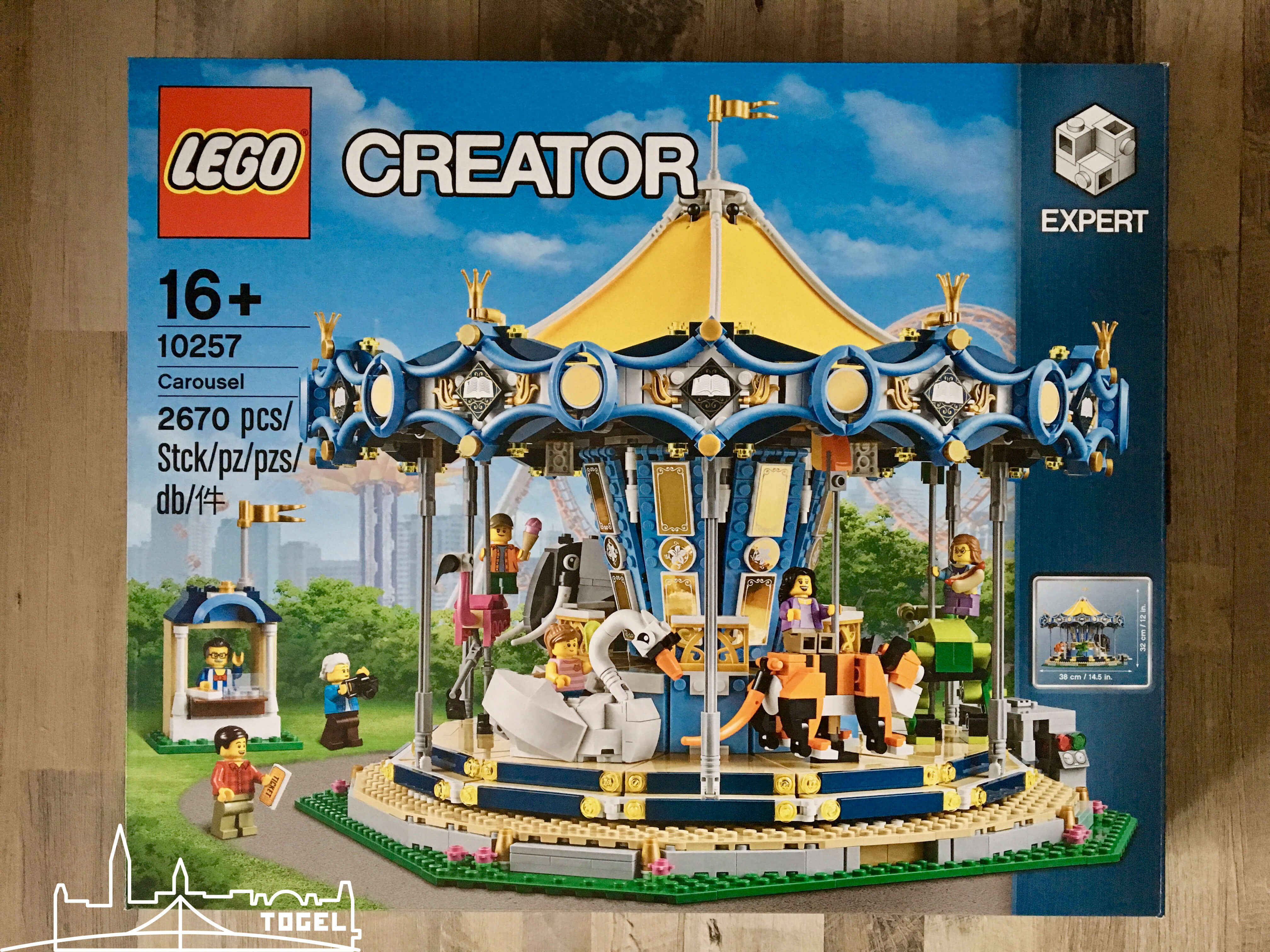 Lego Creator Karussell Carousel 10257 zählt zu den 5 besten Lego Sets 2017