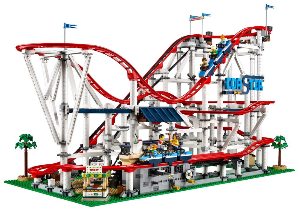 Die Lego Creator Expert Achterbahn 10261 zählt zu den 5 besten Lego Sets 2018.