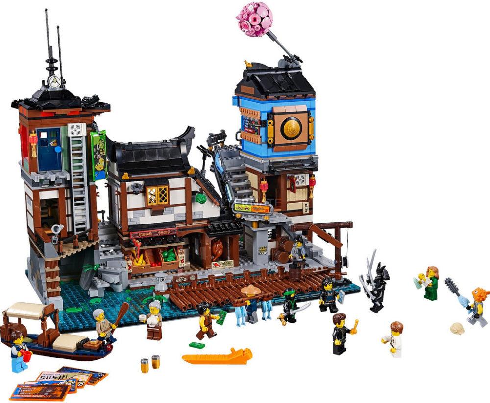 Der Lego Ninjago City Hafen 70657 zählt zu den 5 besten Lego Sets 2018.